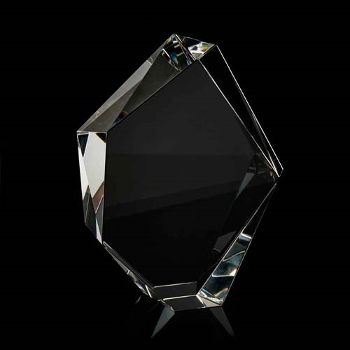 Crystal facet iceberg award