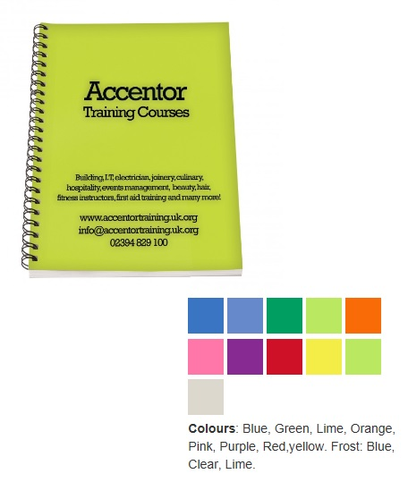 A4 PP Colour Folder