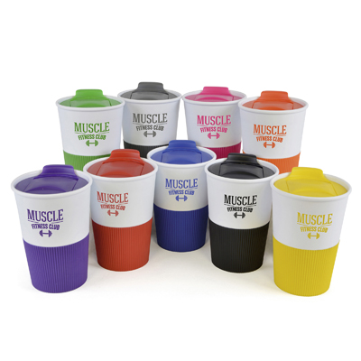 GRIPPY 330ml single walled plastic tumbler
