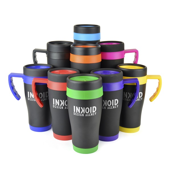 Oregon Black travel mug