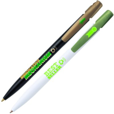 Bic Ecolutions Media Clic - Recycled Pen