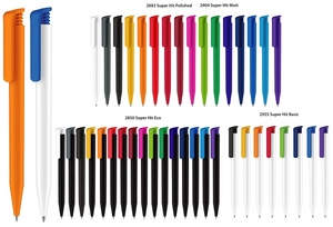senator® Super Hit Matt, Polished, Recycled & Basic Ballpens