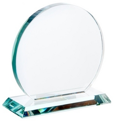 Jade green trophy circle