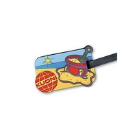 2D PVC Luggage Tag